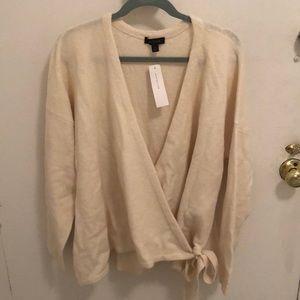 Ann Taylor Wrap Sweater